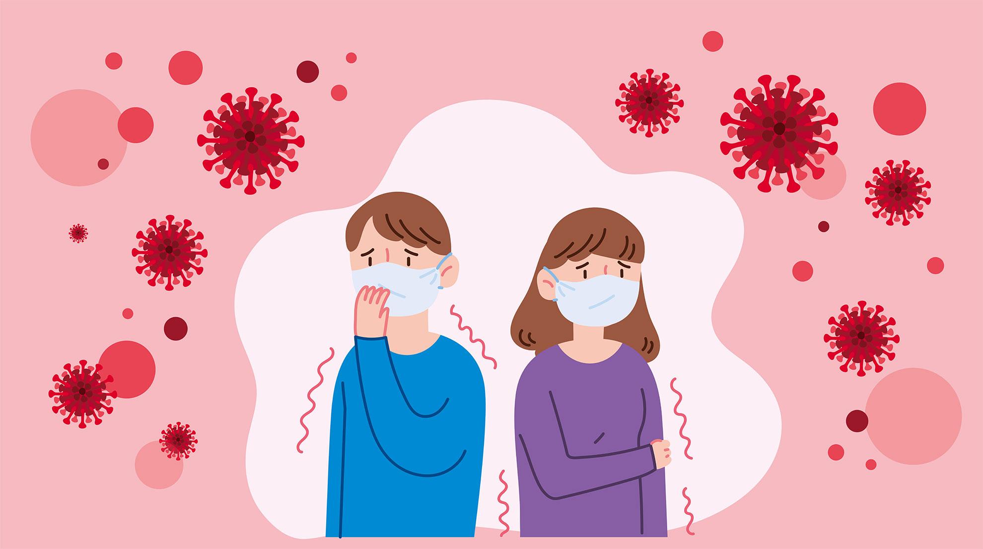 Grippe, Erkältung und Corona-Virus